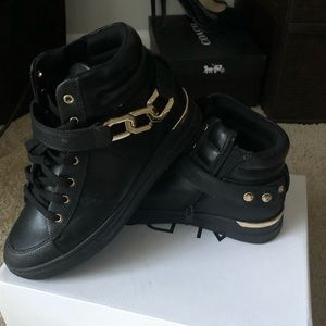 Black Giuseppe Like Chain Sneaker by Aldo